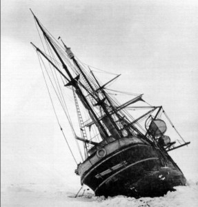 Shackleton's Ship in 1914